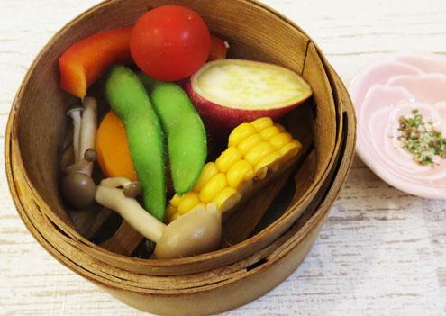 野菜セイロ蒸し