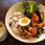 雑穀米の美味しい京都北白川のそうげんカフェ