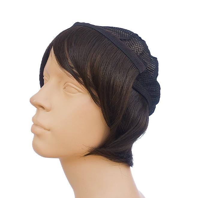 インナーキャップ前髪仕様装着イメージ